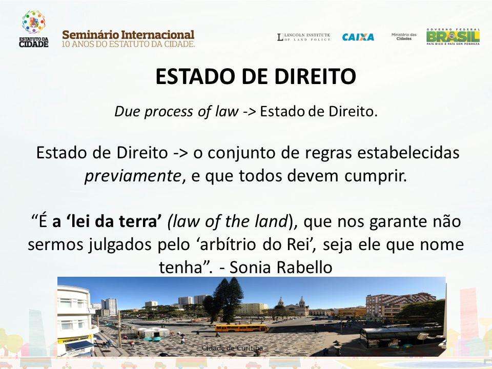 FUNÇÃO SOCIAL DA PROPRIEDADE CF/88 – arts.