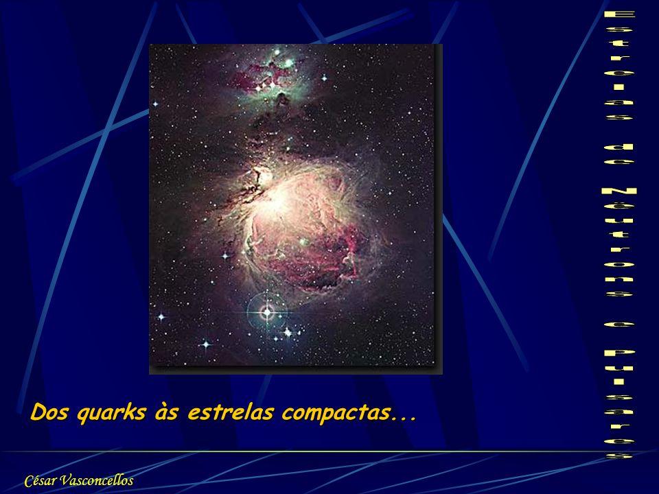 Dos quarks às estrelas compactas... César Vasconcellos