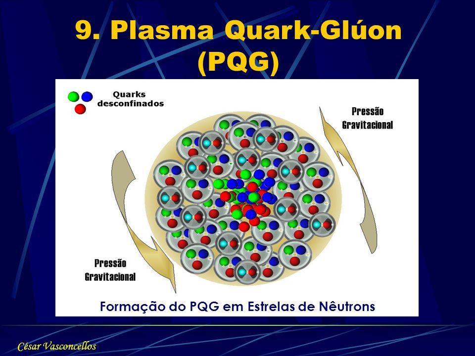 9. Plasma Quark-Glúon (PQG) Formação do PQG em Estrelas de Nêutrons