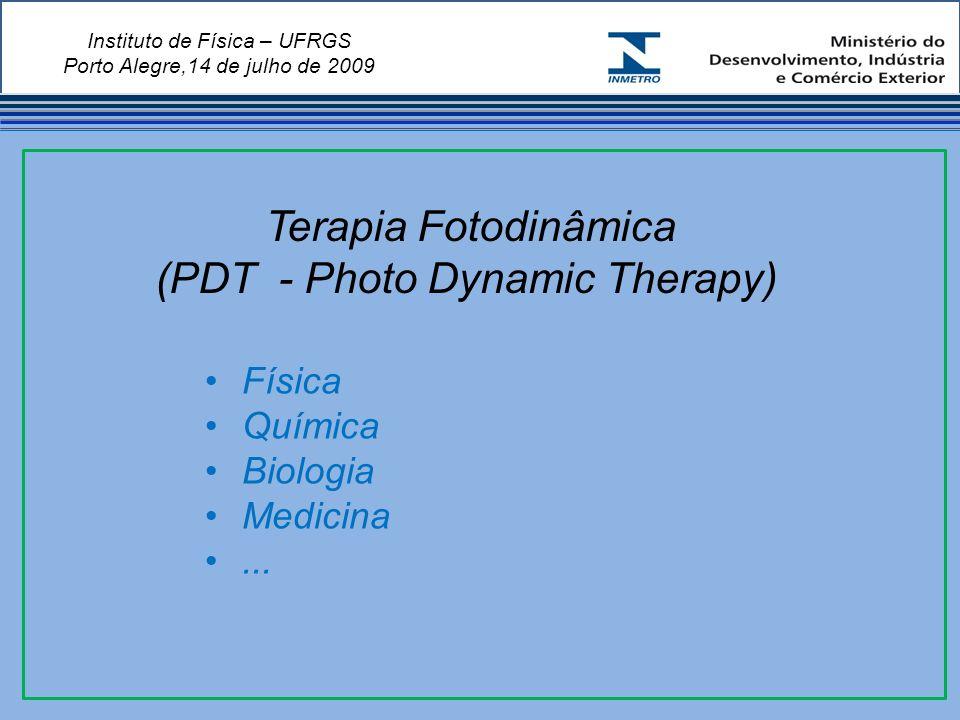 Instituto de Física – UFRGS Porto Alegre,14 de julho de 2009 Física Química Biologia Medicina...