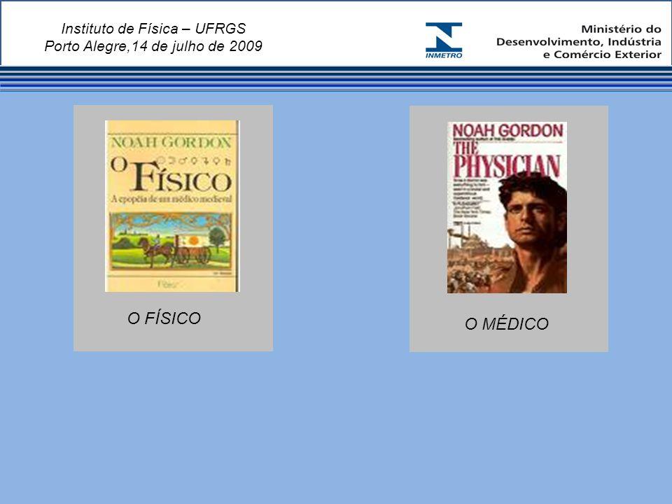 Instituto de Física – UFRGS Porto Alegre,14 de julho de 2009 O FÍSICO O MÉDICO