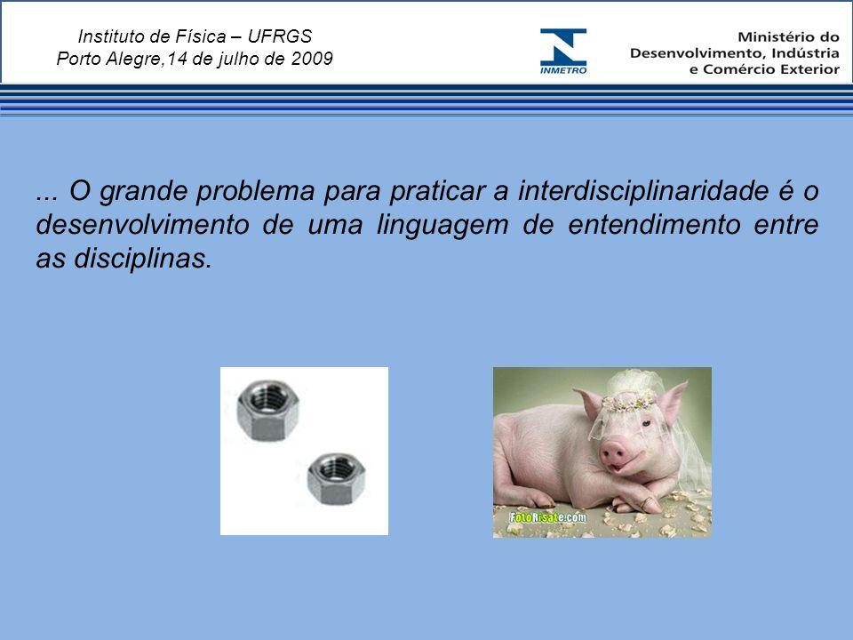 Instituto de Física – UFRGS Porto Alegre,14 de julho de 2009...