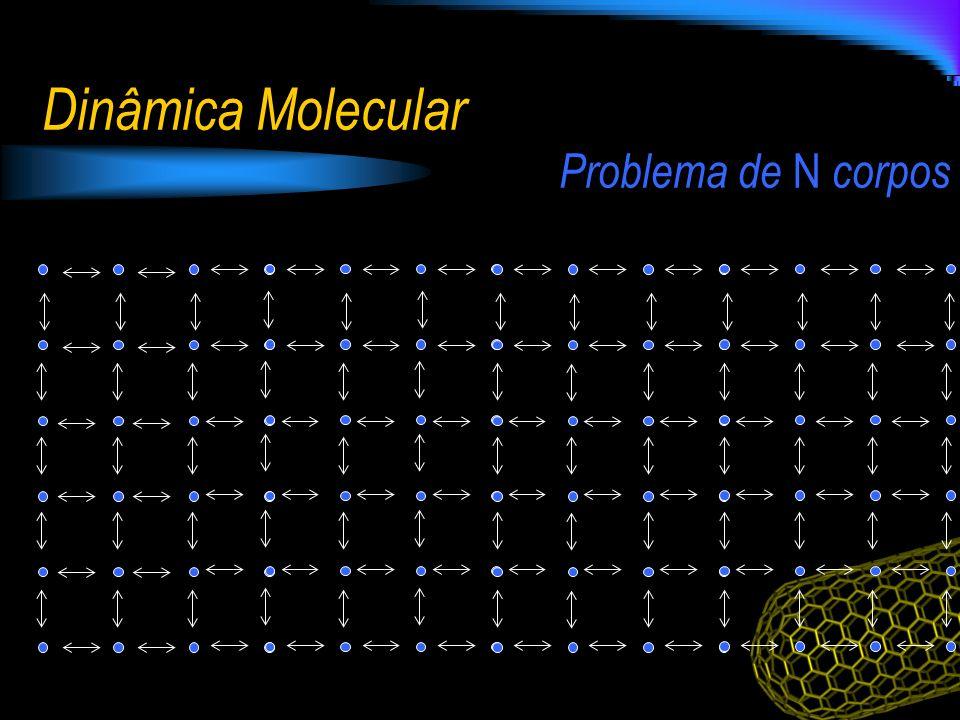 Problema de N corpos Dinâmica Molecular