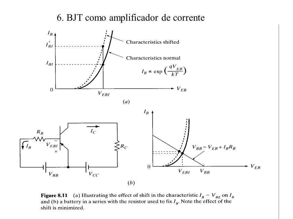 6. BJT como amplificador de corrente