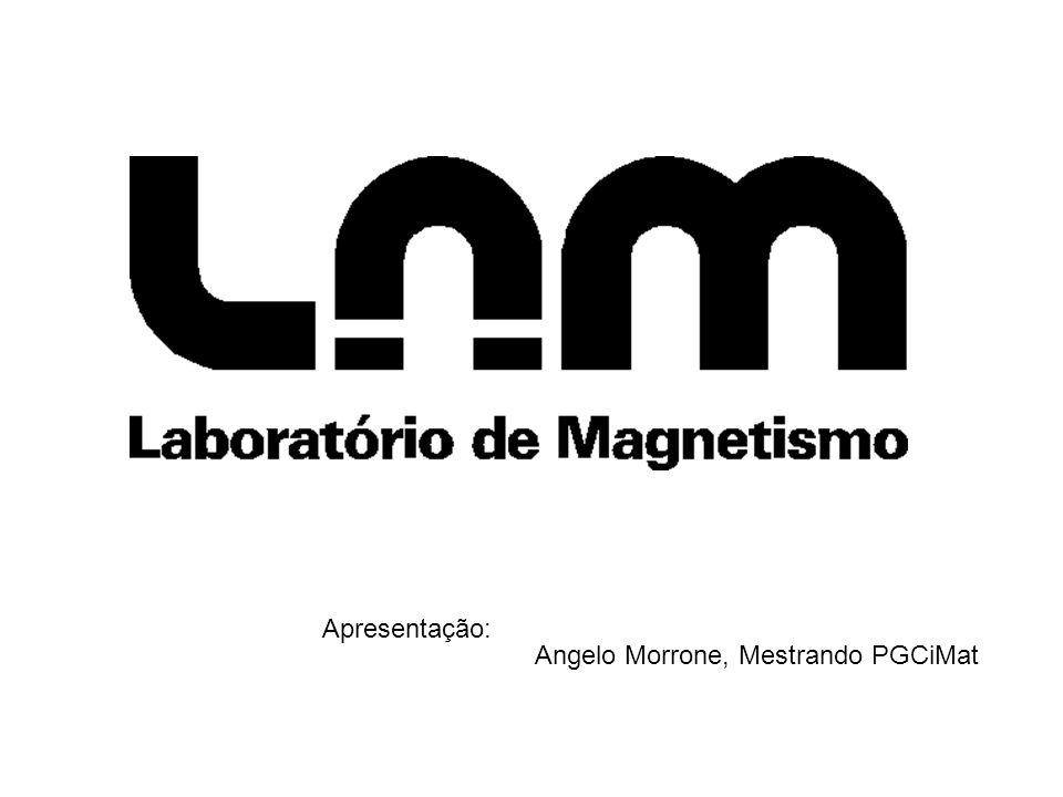 Apresentação: Angelo Morrone, Mestrando PGCiMat