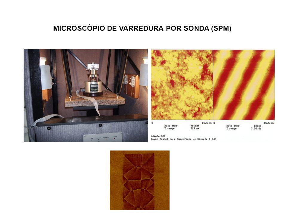 MICROSCÓPIO DE VARREDURA POR SONDA (SPM)