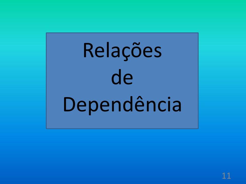 Relações de Dependência 11