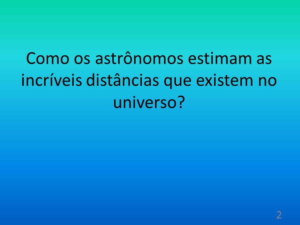 CEFEIDAS Estrelas que mudam, periodicamente, de tamanho e temperatura. 13