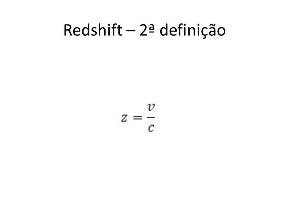 Redshift – 2ª definição