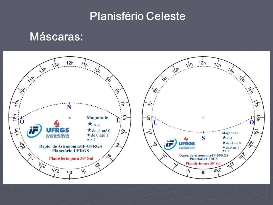Planisfério Celeste Máscaras: