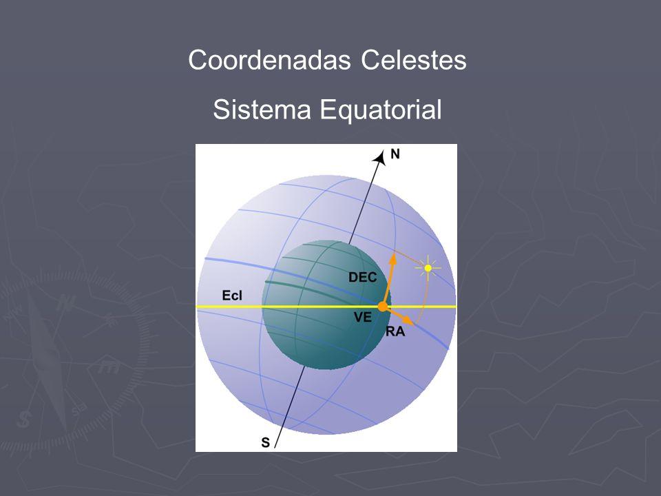 Coordenadas Celestes Sistema Equatorial