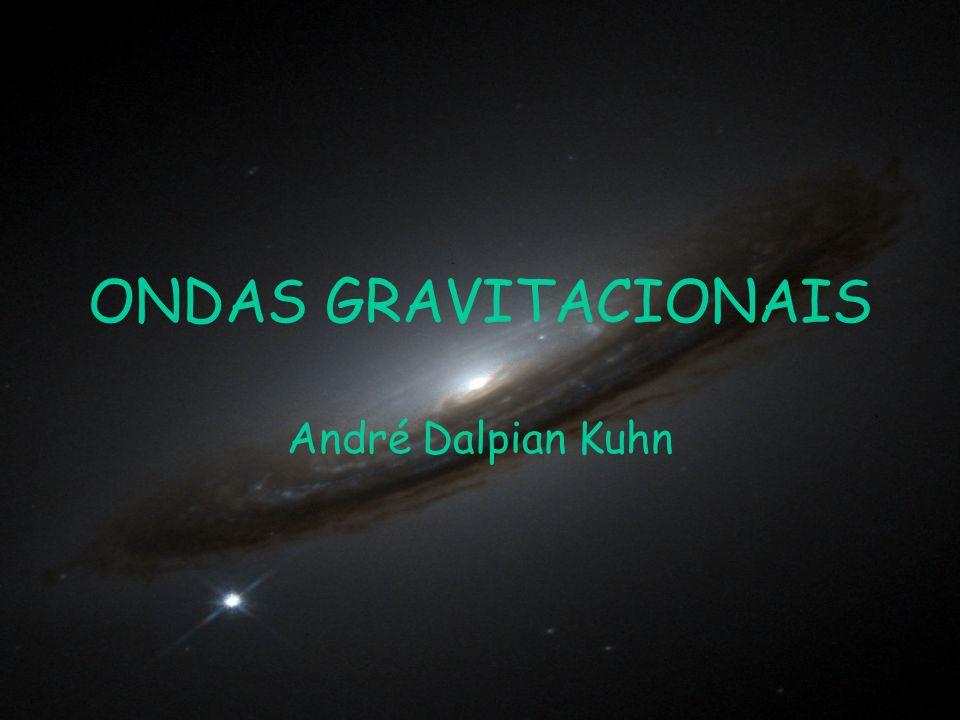 O fundo cosmológico de ondas gravitacionais O resultado final é em geral uma sobreposição incoerente de ondas gravitacionais que resultam num fundo que se assemelha em grande parte a ruído.