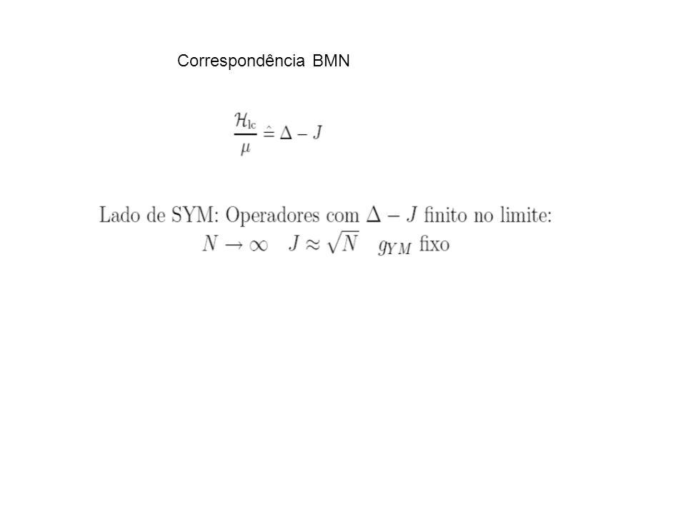 Correspondência BMN