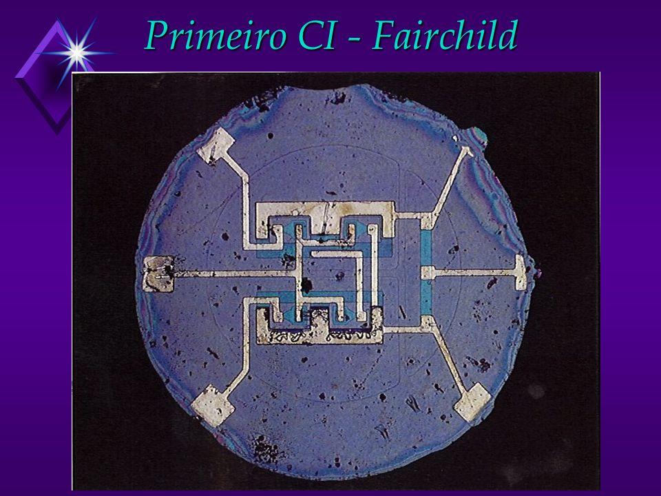 Primeiro CI - Fairchild