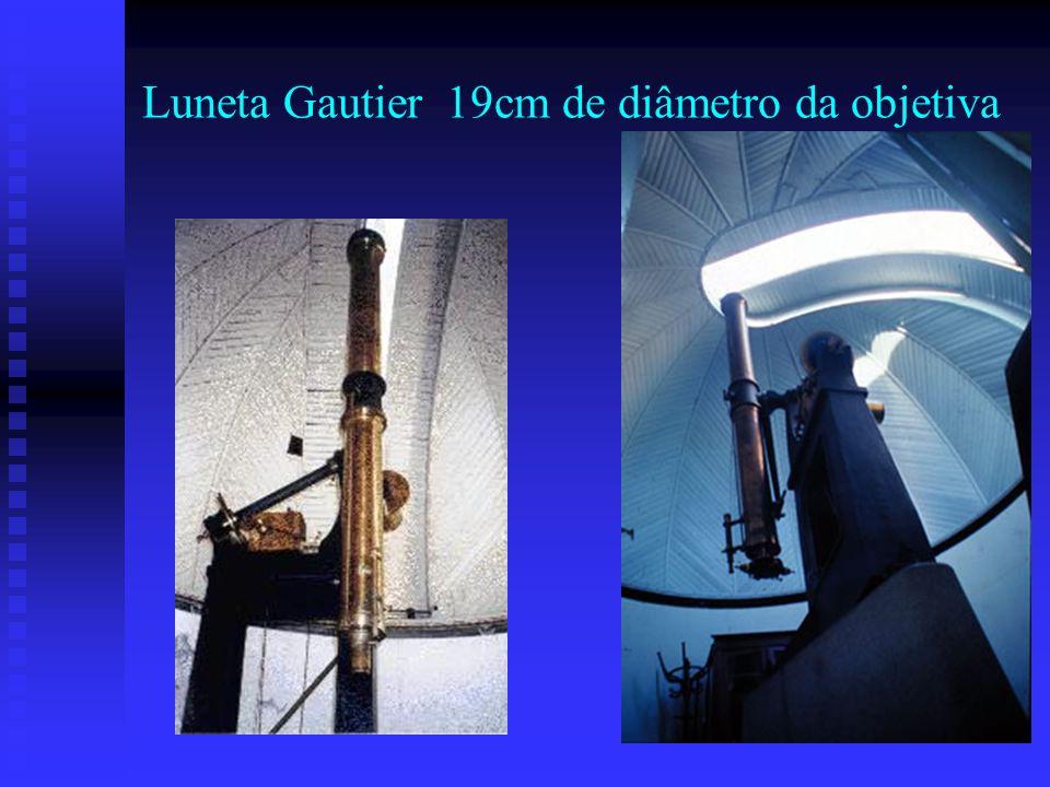 Luneta Gautier 19cm de diâmetro da objetiva