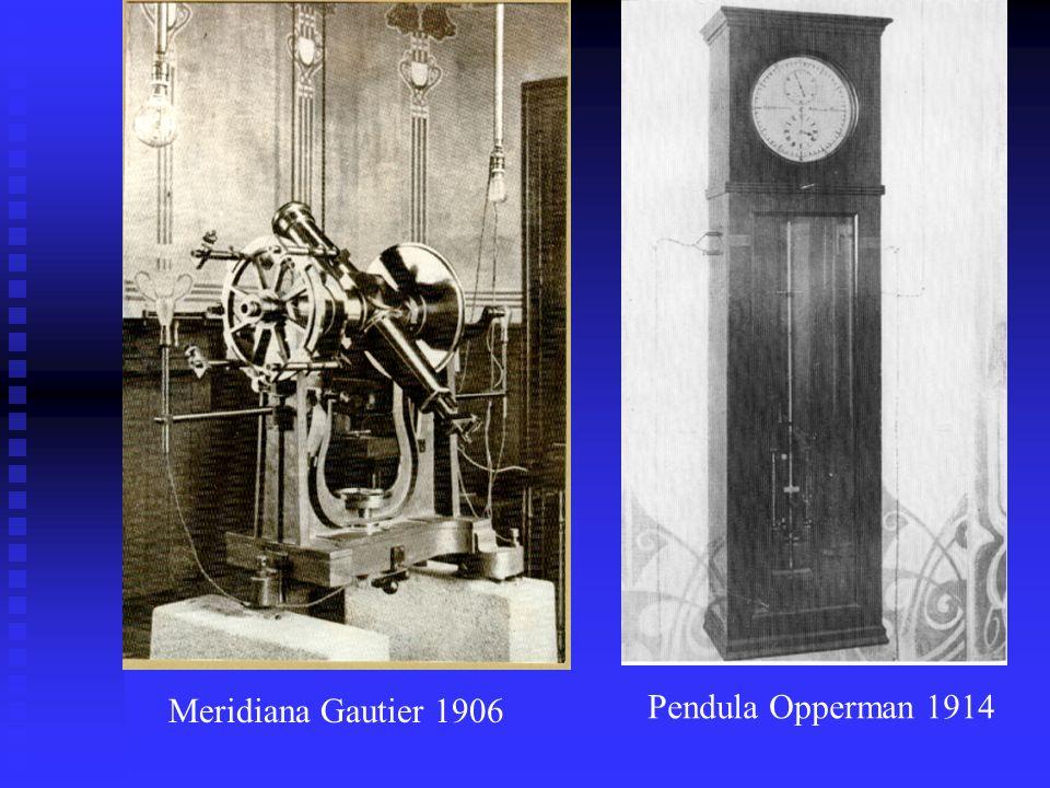 Meridiana Gautier 1906 Pendula Opperman 1914