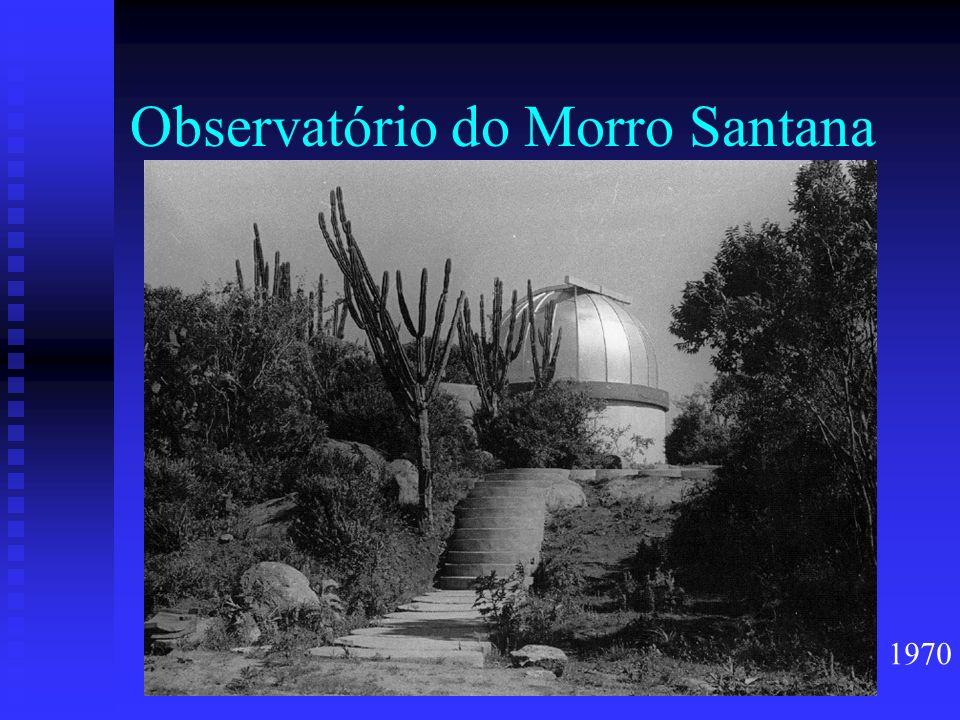 Observatório do Morro Santana 1970
