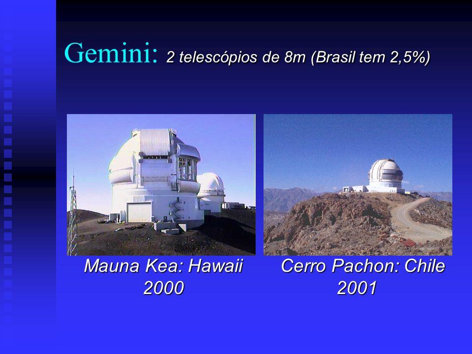 Gemini 8m - 2,5% do Brasil Hawaii Chile