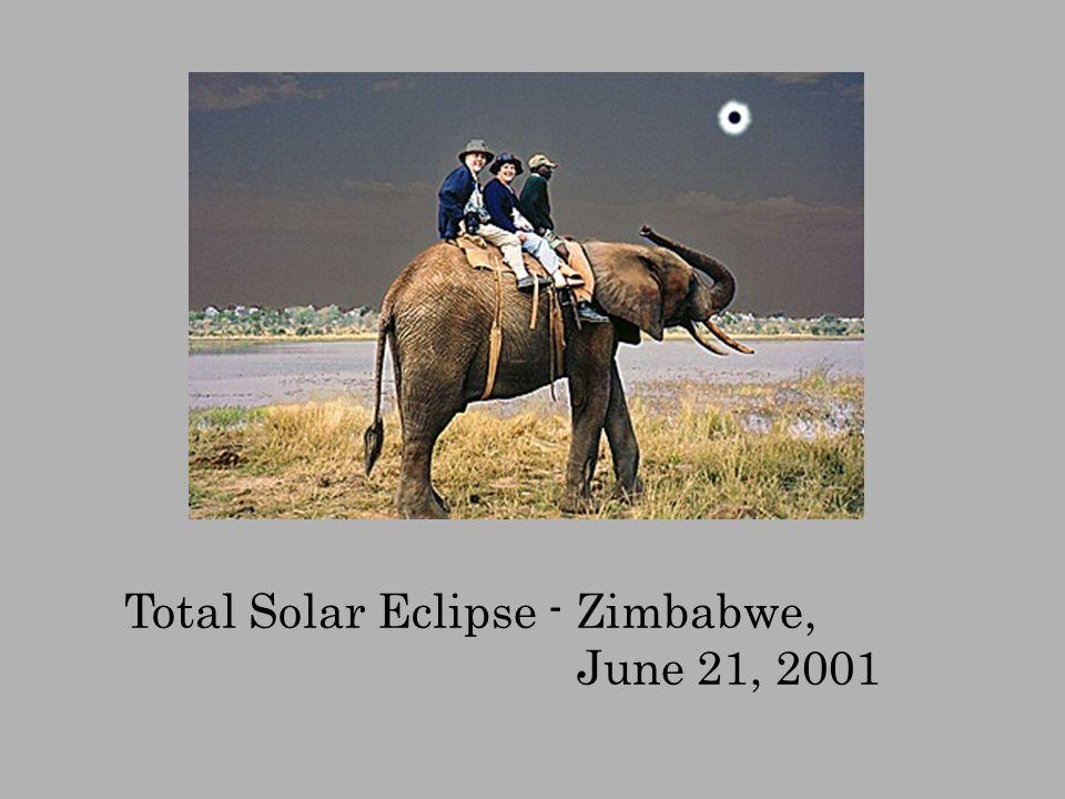 Total Solar Eclipse - Zimbabwe, June 21, 2001