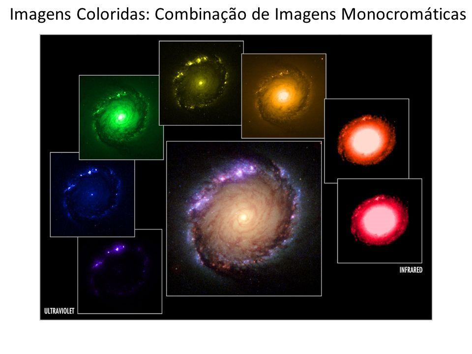 Imagens Coloridas: Combinação de Imagens Monocromáticas