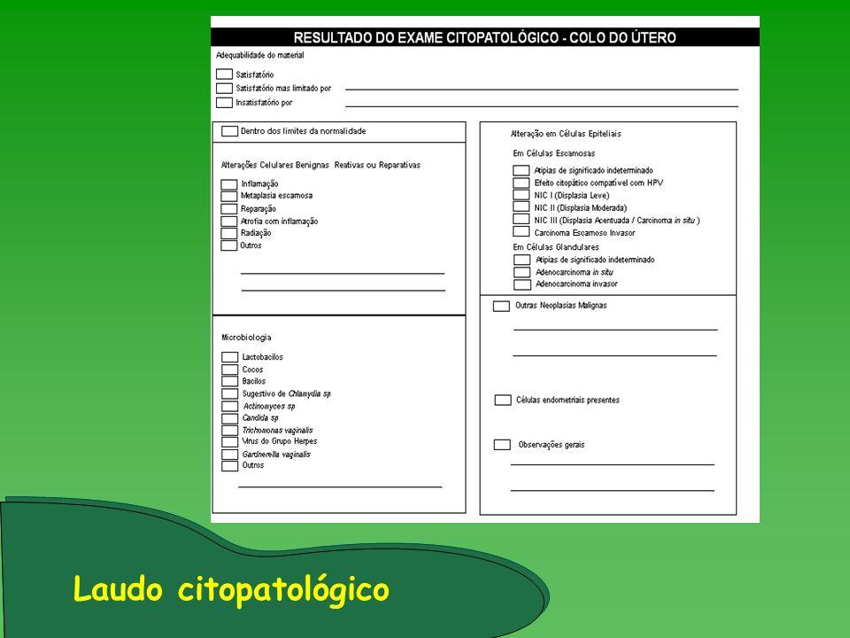 Laudo citopatológico