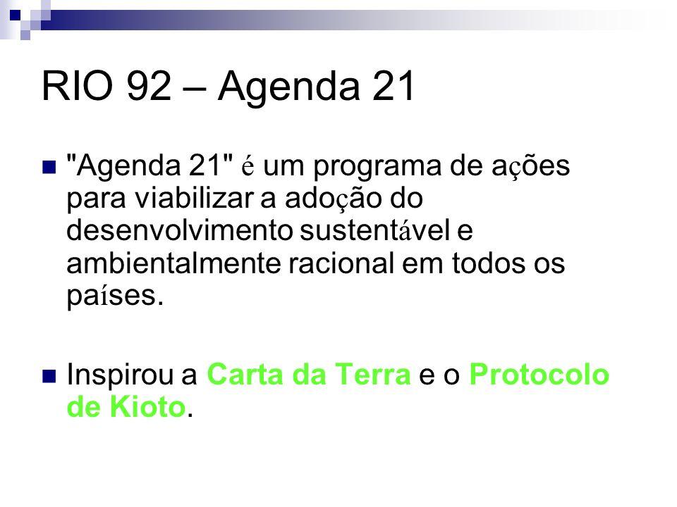 RIO 92 – Agenda 21