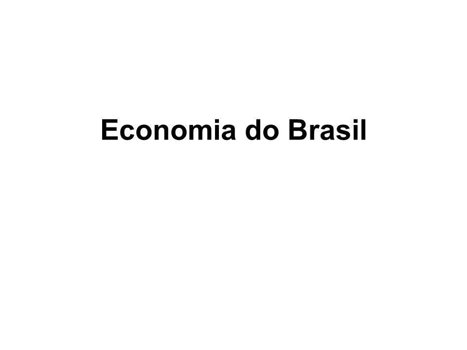 HOJE O Brasil tem um mercado livre e uma economia exportadora.Brasil seu produto interno bruto ultrapassa 1,8 trilhão de dólares, fazendo-lhe a nona maior economia do mundo em 2007produto interno bruto2007 fazendo-a segunda maior das Américas, atrás apenas dos Estados Unidos da América.Estados Unidos da América O Brasil é considerado uma das futuras potências do mundo junto à Rússia, Índia e China.RússiaÍndia China
