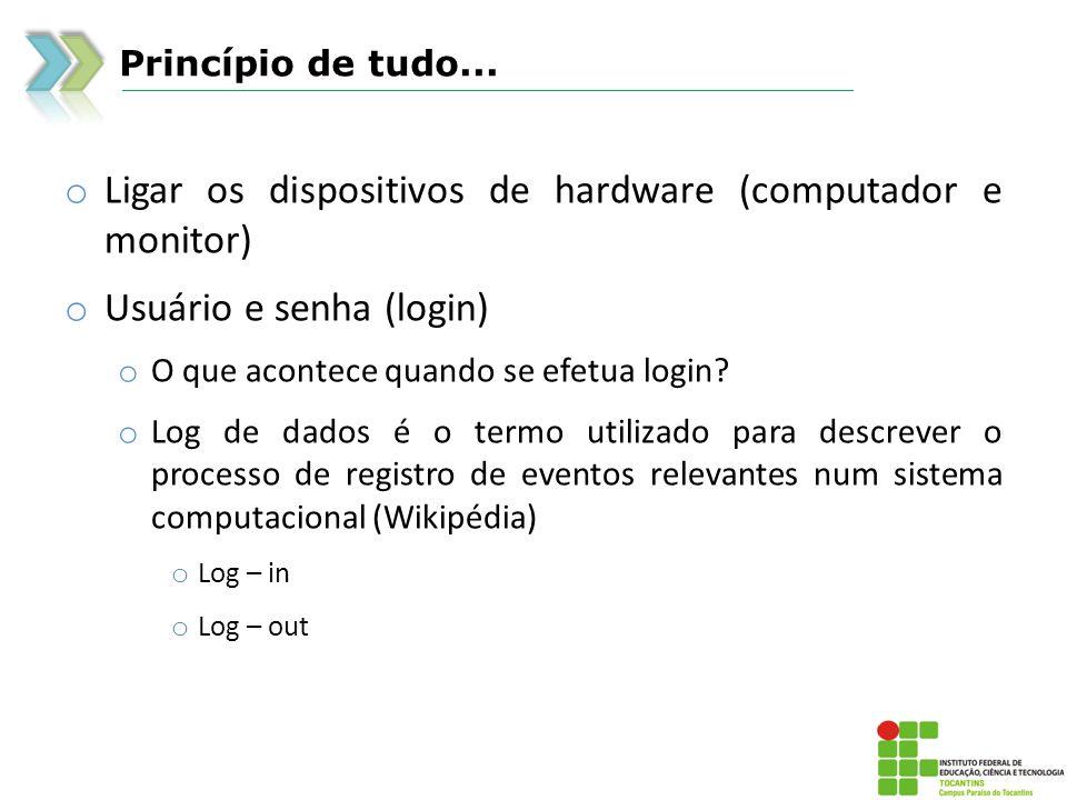 Windows o Ícones: continuação o Os arquivos de programa normalmente utilizam a extensão.exe ou.dll o Os programas do Windows, como o Bloco de notas (Notepad.exe), normalmente se encontram na pasta Windows o Os outros programas geralmente se encontram na pasta Arquivos de programas no computador