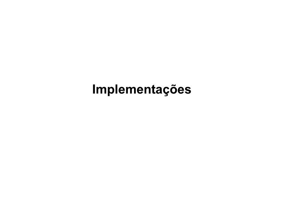 Implementações