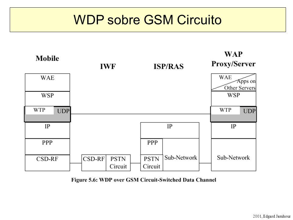 2001, Edgard Jamhour WDP sobre GSM Circuito