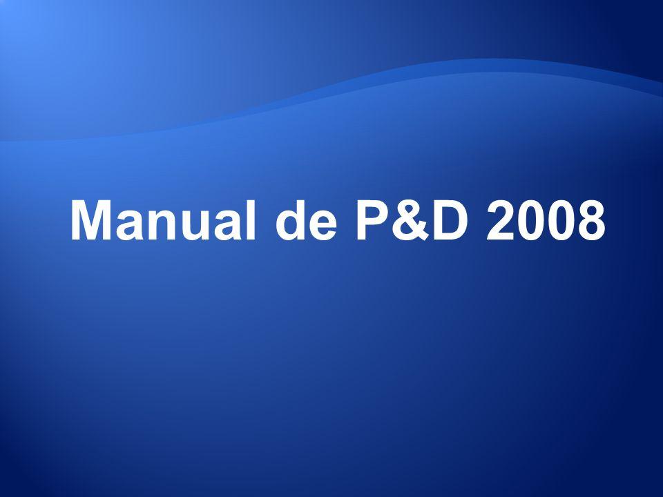 Manual de P&D 2008