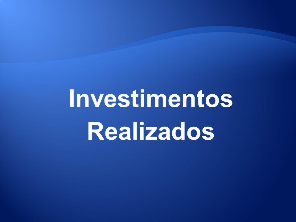 Investimentos Realizados