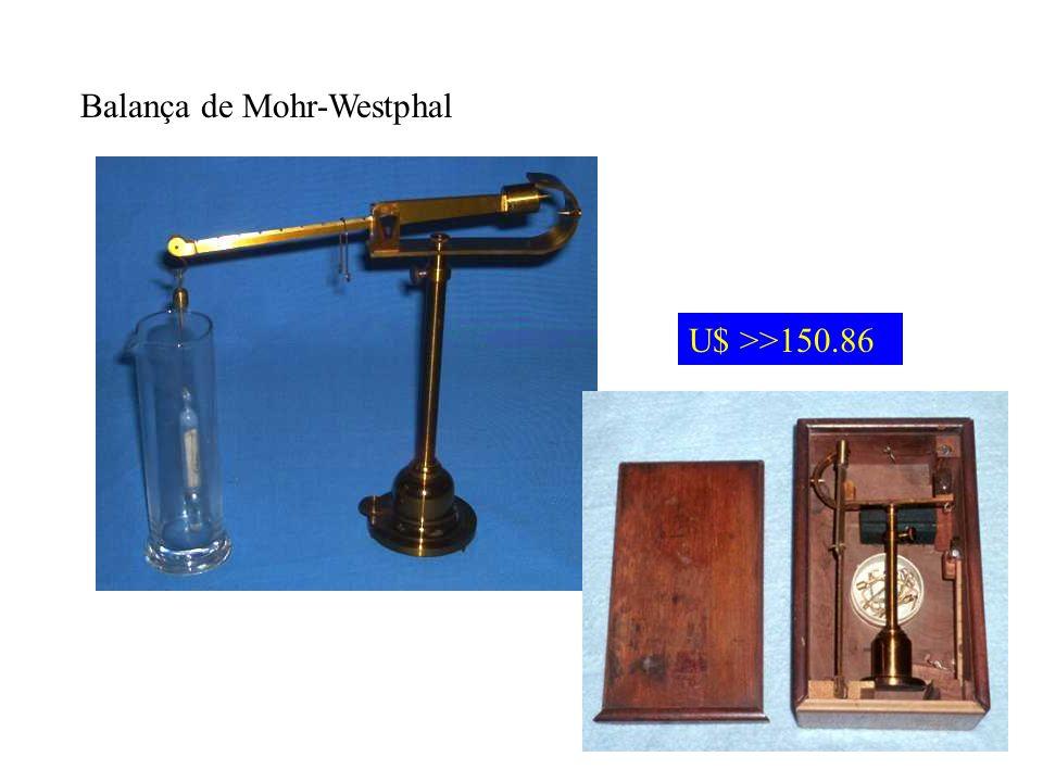 Balança de Mohr-Westphal U$ >>150.86