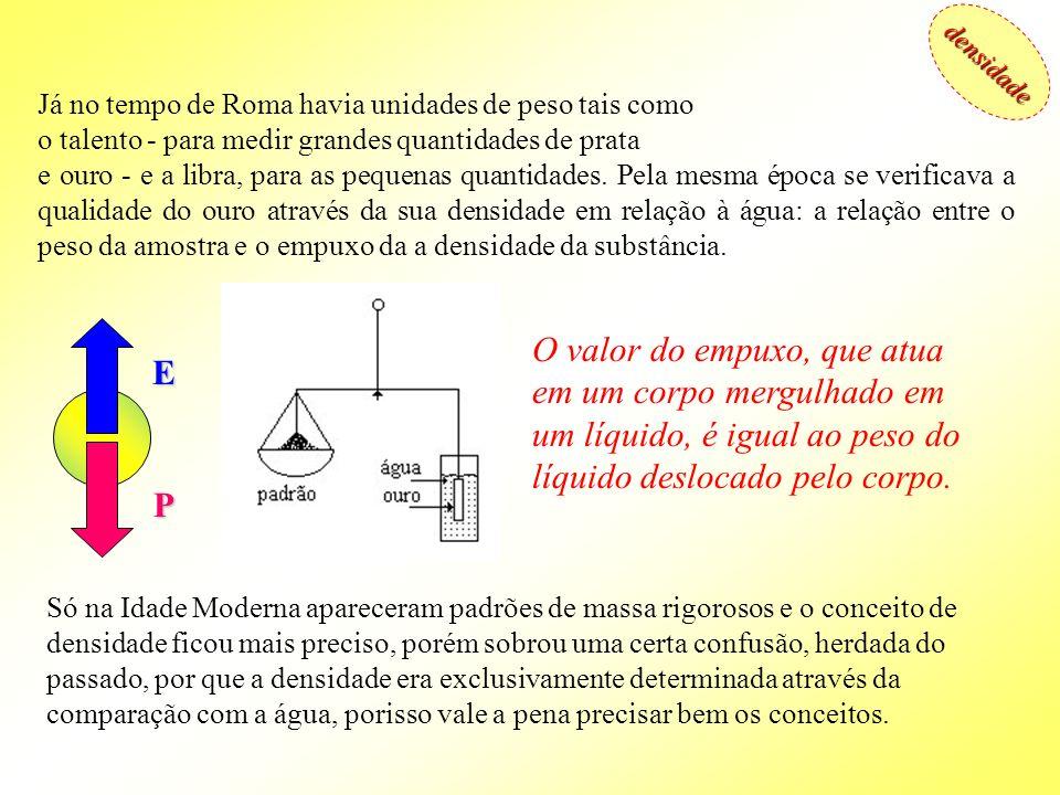 densidade Densidade e gravidade específica densidade Definição: A densidade é a relação entre a massa de uma substância e o volume que ela ocupa.