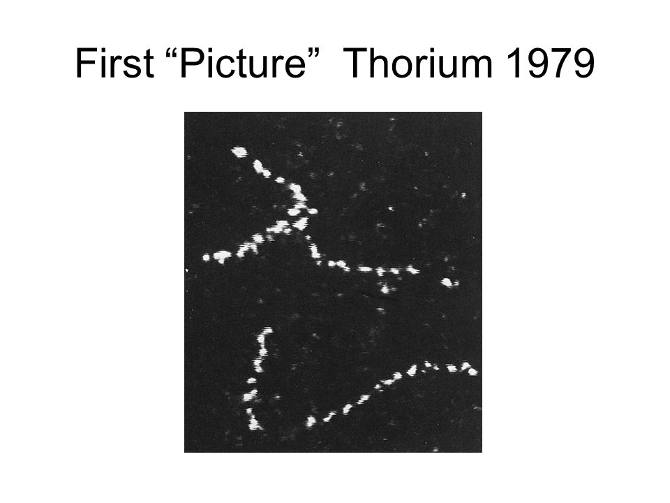 First Picture Thorium 1979