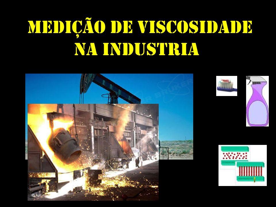 Medição de Viscosidade na Industria