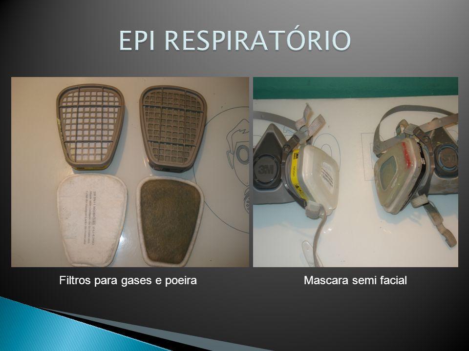Filtros para gases e poeiraMascara semi facial