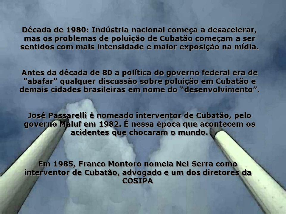 Emissão de poluentes (t/ano): CONO x SO x MP 119,74956,78927,3359,82 Campanhas diretamente financiadas em 2004: GERALDO CARDOSO GUEDES (PL) Vereador GERALDO CARDOSO GUEDES (PL) Vereador R$ 4.000,00