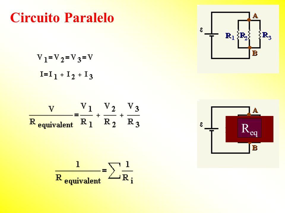 Circuito Paralelo R eq