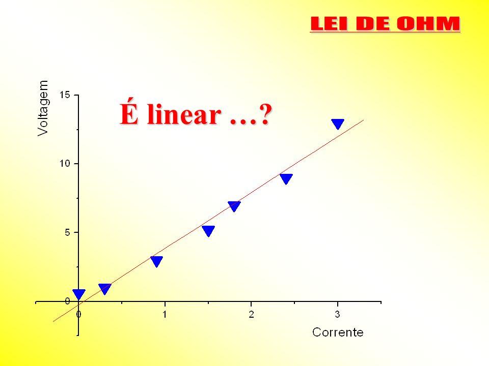 É linear …