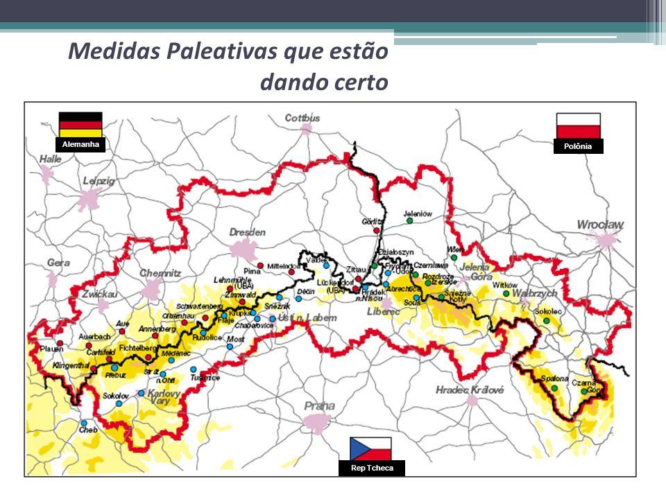 Medidas Paleativas que estão dando certo Alemanha Polônia Rep Tcheca