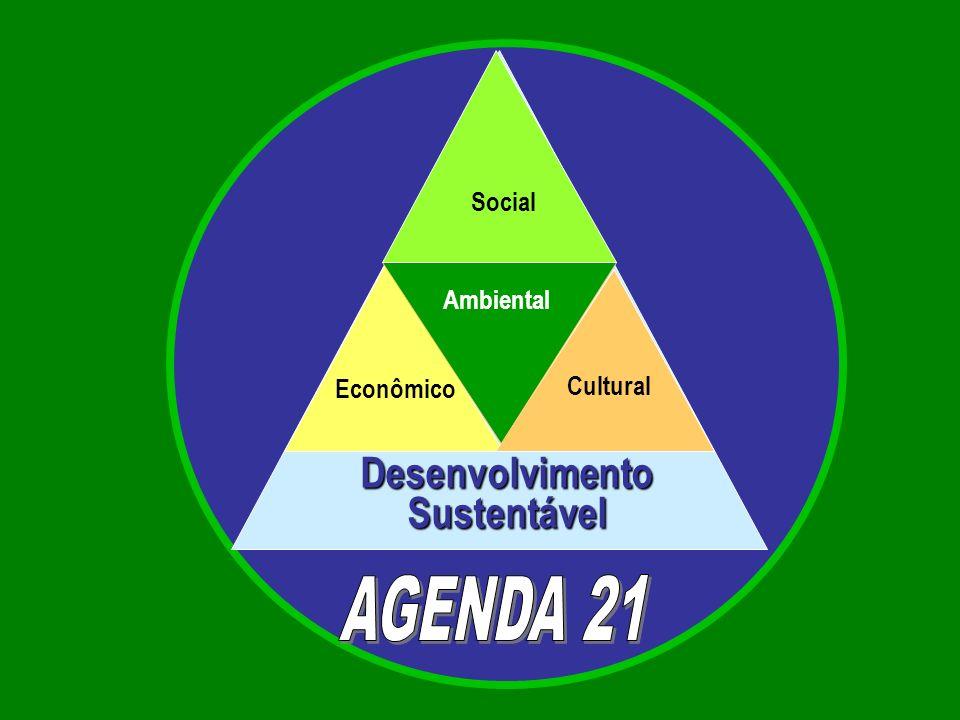 Econômico Desenvolvimento Sustentável Cultural Social Ambiental