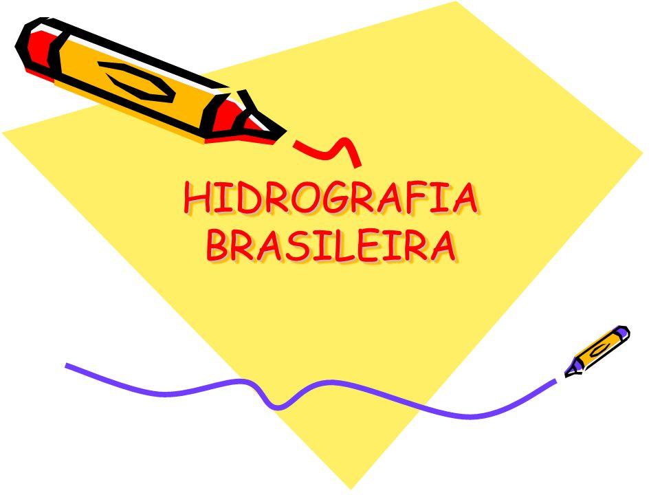 CARACTERÍSTICAS GERAIS Grande potencial hidráulico.