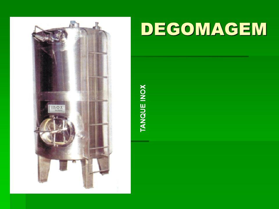 DEGOMAGEM TANQUE INOX