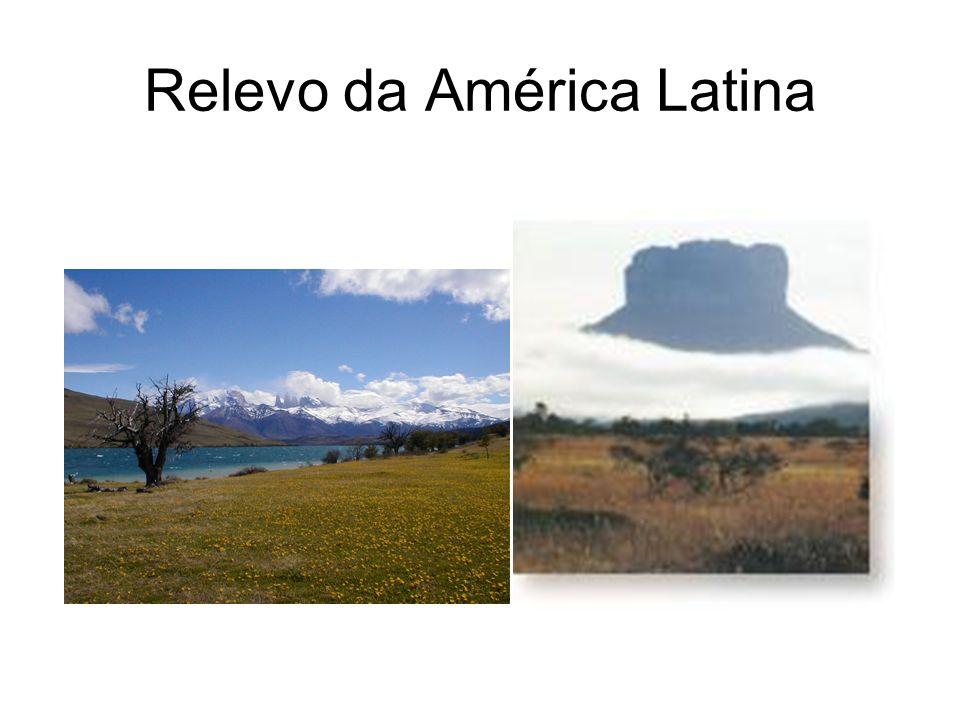 Características da População da América Latina Forte Urbanização 70% a 75% da população.