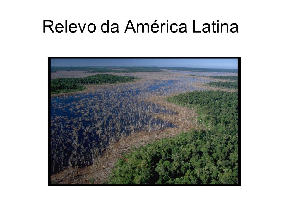 Hidrografia da A. Latina Amazonas Orinoco Río da Prata