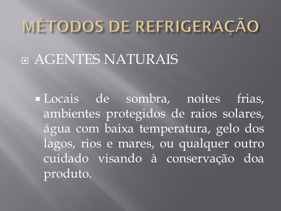 CONSERVAÇÃO DE PRODUTOS BIOLÓGICOS PLASMA SANGUÍNEO TECIDOS HUMANOS PARA TRANSPLANTES CULTIVO DE BACTÉRIAS E VÍRUS CAFÉ SOLÚVEL (BRASIL) FRUTAS E HORTALIÇAS