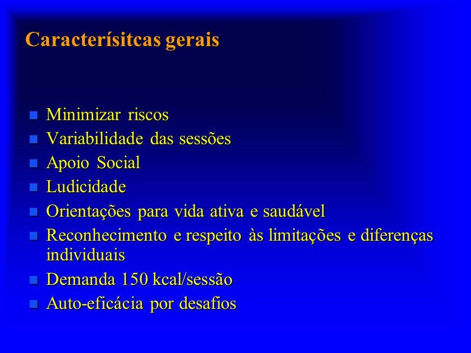 Benefícios: redução da pressão arterial Bottcher et al., 2005