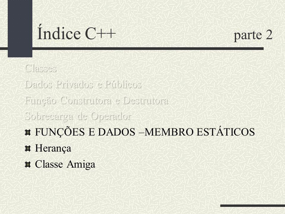 Índice C++ parte 2