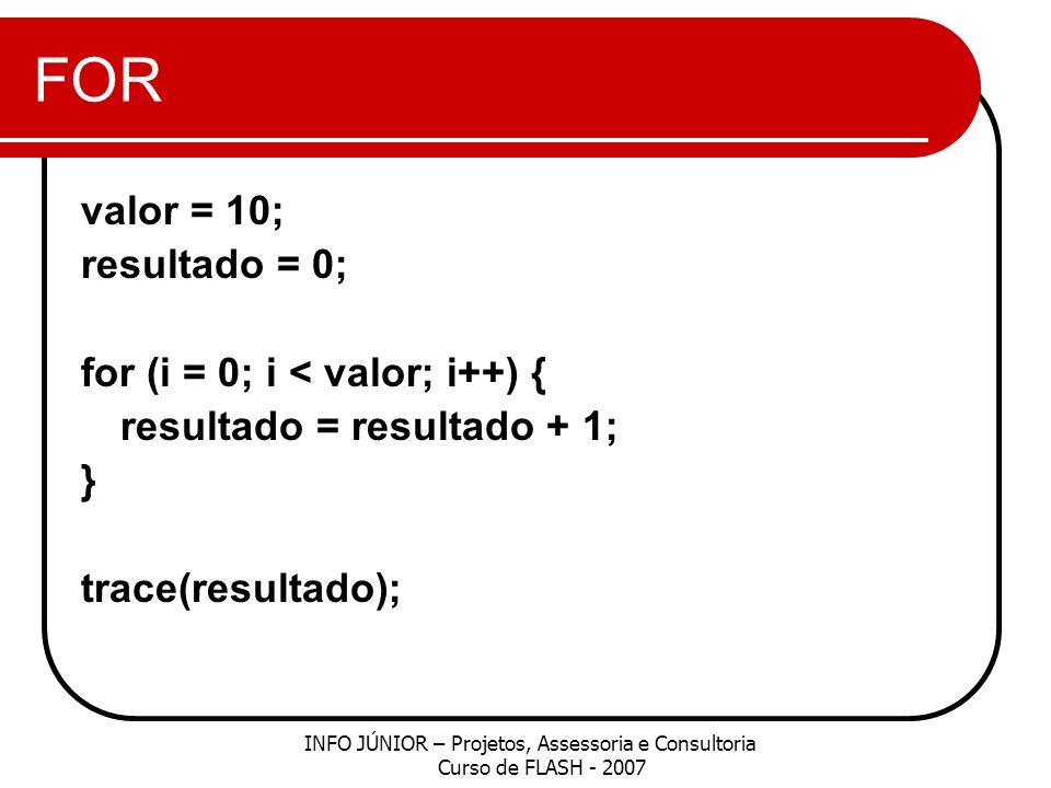 WHILE Você pode escrever instruções while usando o seguinte formato: while (condition) { // statements } OU do { // statements } while (condition);